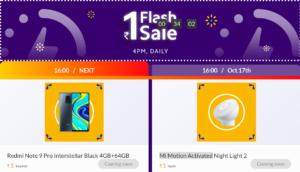 Mi Flash Sale