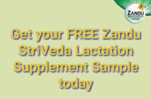 Free Sample Zandu StriVeda Lactation Supplement