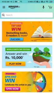 Amazon Tap And Win Answers