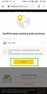LetyShop Cashback Offer