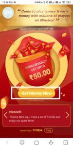 Mini Joy App Offer