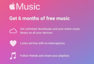 Apple Music Subscription Free