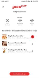 [Wow! Trick] Gaana Music 🎧 - Free Subscription Plan At 3 Month