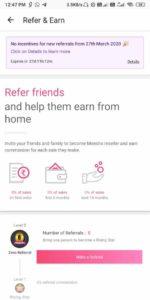 Meesho App Refer earn