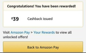 Amazon Send Money Offer