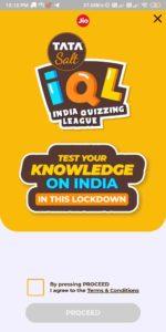 MyJio IQL Quiz Answers