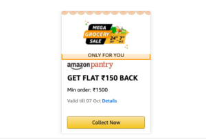 Amazon Mega Grocery Sale