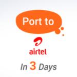 Airtel Port Offer