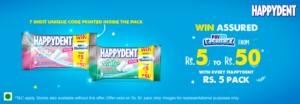 Paytm HappyDent Offer