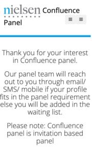 Confluence Panel Survey