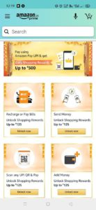 Amazon Great Indian Sale Cashback Offer