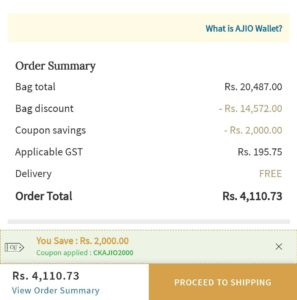 AJio Discount Coupon Code