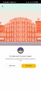 Go India Jaipur Event