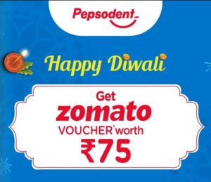 Zomato Pepsodent Offer