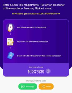 MagicPin Refer Earn Offer
