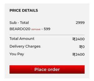 BearDo Free Shopping Offer