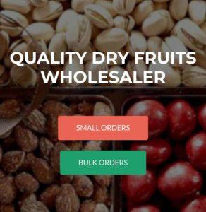 Free Sample Dry Fruit