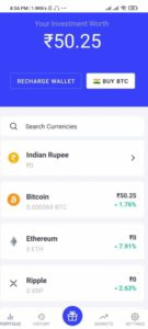 CoinSwitch Kuber App Offer