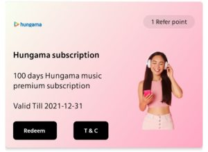 Hungama Music Subscription Free