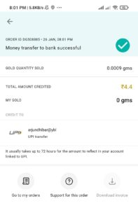 India Gold App Offer