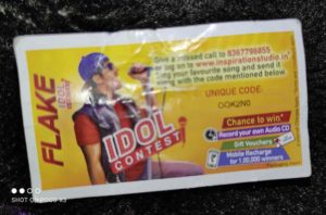 Flake Idol Contest