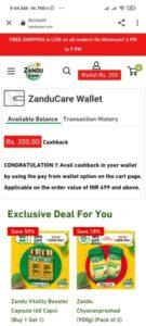 ZanduCare Free Wallet Cash
