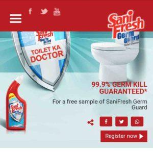 Free Sample SaniFresh Germ Guard