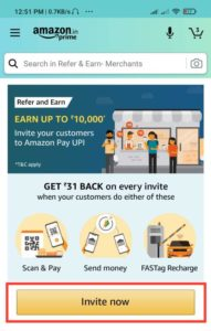 Amazon Refer And Earn Offer