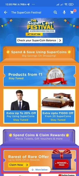 The Supercoin Festival Offer