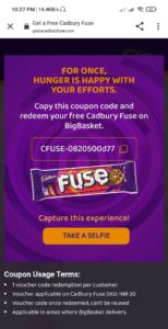 Free Cadbury Fuse Contest