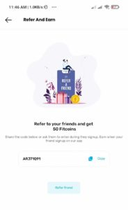 Fittr App Offer
