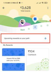 Google Pay Rewards Path Offer