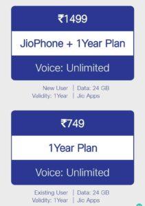 JioPhone 2021 Offer