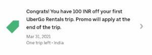 Uber Ride Promo Code