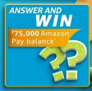 Amazon FunZone March Carnival Quiz Answers