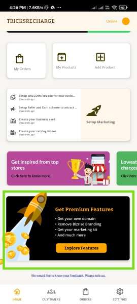Bikry App Refer Earn Offer