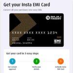 Bajaj Finserv Instra EMI Card