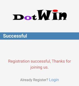 DotWin Refer Earn Offer