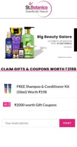 Free Sample Big Beauty Galore Products