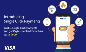 PayTM One-Click Payments